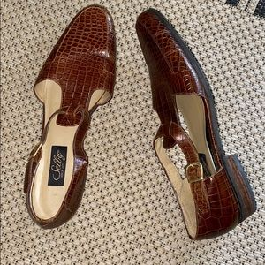 Vintage Selby fisherman shoes